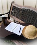 writing bench