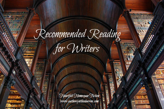 Recommended Reading for Writers   AuthorCynthiaHerron com