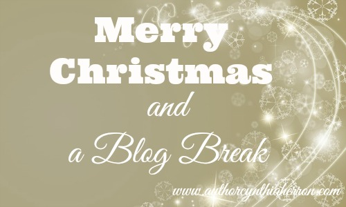 Merry Christmas and a Blog Break
