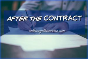 After the Contract authorcynthiaherron.com